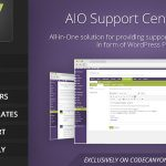 Download Free AIO Support Center v2.21 - WordPress Ticketing System