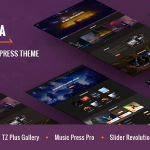 Download Free AMITA v1.5.3 - Music Band WordPress Theme