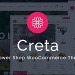Download Free Creta v2.9 - Flower Shop WooCommerce WordPress Theme