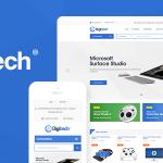 Download Free Digitech v1.0.2 - Technology Theme for WooCommerce WordPress