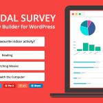 Download Free Modal Survey v1.9.9.8 – WordPress Poll, Survey & Quiz Plugin