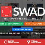 Download Free Oswad v2.0.2 – Responsive Supermarket Online Theme