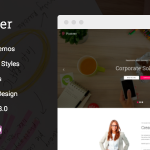 Download Free Pioneer v1.0.5 - Multi-Concept Corporate WordPress Theme
