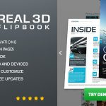 Download Free Real3D FlipBook v3.5 - WordPress Plugin