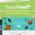 Download Free Superfood v1.3.1 - A Vibrant Theme for Organic Food