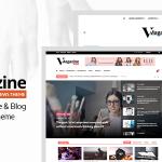 Download Free Vmagazine v1.1.0 - Blog, NewsPaper, Magazine Themes