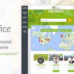 Download Free Woffice v2.7.3 - Intranet/Extranet WordPress Theme