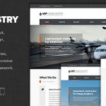 Download Free WP Industry v1.5 - Industrial & Engineering WP theme