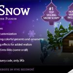 Download Free 5sec Snow v1.60 – Premium Plugin