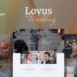Download Free Lovus v1.0.4 - Wedding Planner WordPress Theme