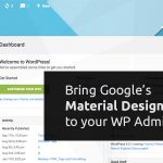 Download Free Material WP v0.0.52 – Material Design Dashboard Theme