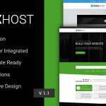 Download Free MaxHost v2.8 - Web Hosting, WHMCS and Corporate