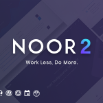 Download Free Noor v2.9.4 - Fully Customizable Creative AMP Theme