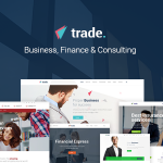 Download Free Trade v1.2 - Business and Finance WordPress Theme