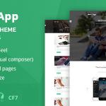 Download Free Webapp v1.2 - App - Saas WordPress Theme