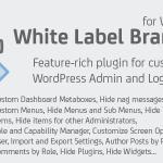 Download Free White Label Branding for WordPress v4.2.2
