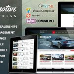 Download Free Automotive v9.4 - Car Dealership Business WordPress Theme