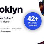 Download Free Brooklyn v4.9.1.1 - Creative Multi-Purpose WordPress Theme