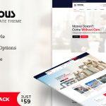 Download Free Copious v1.0 – Multiuse WordPress Theme