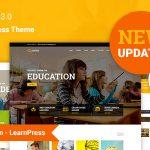 Download Free Education WP v3.6.1 - Education WordPress Theme