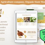 Download Free Farm Agric v1.1 - Agricultural Business WordPress Theme