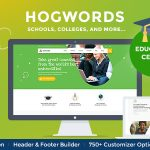 Download Free Hogwords v1.0 - Education Center WordPress Theme