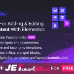 Download Free JetEngine v1.2.2 - Adding & Editing Dynamic Content