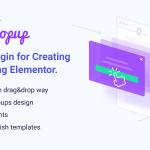 Download Free JetPopup v1.2.1 - Popup Addon for Elementor