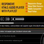 Download Free Lono v1.0 - Responsive HTML5 Audio Player Plugin