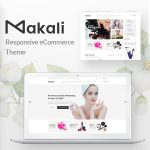 Download Free Makali v1.0.5 - Cosmetics & Beauty Theme