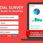 Download Free Modal Survey v2.0.0.3 – Poll, Survey & Quiz Plugin