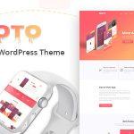 Download Free Moto v1.1.3 - WordPress Landing Page Theme