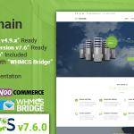 Download Free OrDomain v2.5 - Responsive WHMCS Hosting WordPress Theme