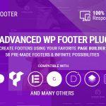 Download Free Smart Footer System v2.5.4 - Footer Plugin for WordPress