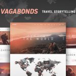 Download Free Vagabonds v1.0.2 – Personal Travel & Lifestyle Blog Theme