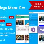 Download Free WP Mega Menu Pro v2.0.3 - Responsive Mega Menu Plugin