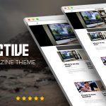 Download Free Attractive v1.0 - Minimalist Magazine WordPress Theme