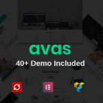 Download Free Avas v3.7.1 – Multi-Purpose Responsive WordPress Theme
