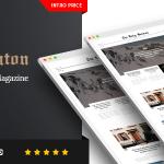 Download Free Balaton v1.0.8 - Newspaper style Magazine WordPress