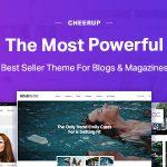 Download Free CheerUp v6.0.2 - Blog / Magazine - WordPress Blog Theme