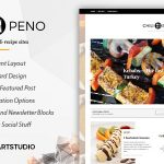 Download Free Chilipeno v1.0.1 - Recipe & Food WordPress Theme