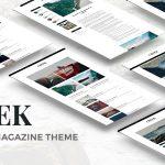 Download Free Creek v1.0 - Classic Elegant Magazine WordPress Theme