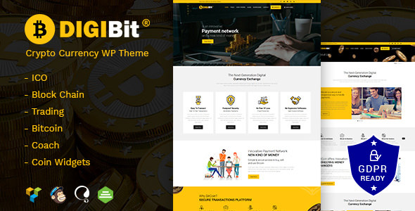 crypterio bitcoin ico and cryptocurrency wordpress theme nulled