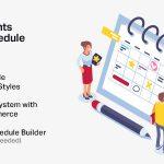 Download Free Events Schedule v2.5.8.2 - Events WordPress Plugin