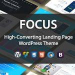 Download Free Focus High v1.1 - Converting Landing Page WordPress Theme