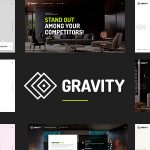 Download Free Gravity v1.0.7 - Creative Agency & Presentation Theme