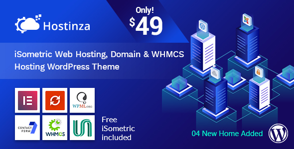 Download Free Hostinza v1 0 5 - Isometric Domain & Whmcs Web