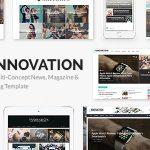 Download Free INNOVATION v5.3 - Multi-Concept News, Magazine & Blog Template