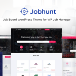 Download Free Jobhunt v1.1.8 - Job Board theme for WP Job Manager