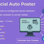 Download Free Social Auto Poster v2.9.0 - WordPress Plugin
